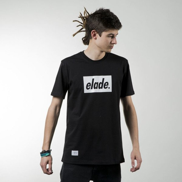 Elade T-shirt Box heather black