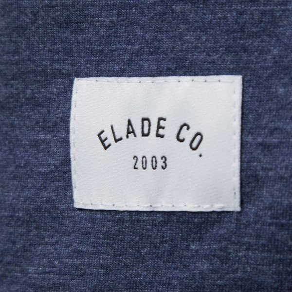 Elade T-shirt Box heather blue jeans