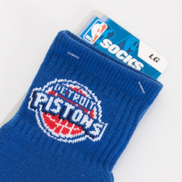 FBF socks NBA Detroit Pistons A501 Team Color