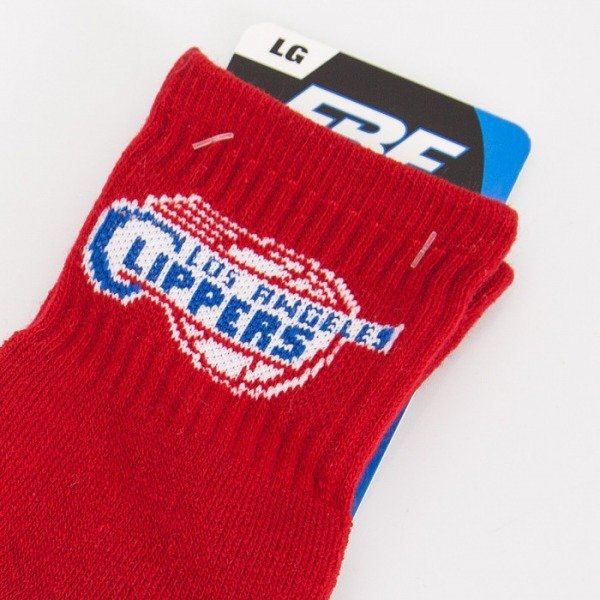 FBF socks NBA Los Angeles Clippers A501 Team Color