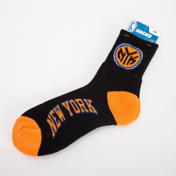 FBF socks NBA New York Knicks A501 Team Color
