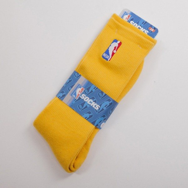 FBF socks NBA Regular Logo gold A301