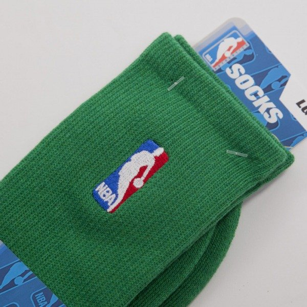 FBF socks NBA Regular Logo green A301