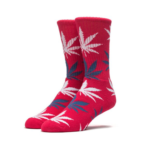 HUF Plante Crew Sock red / white / blue