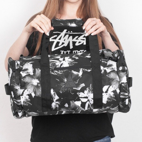 HUF bag Floral black