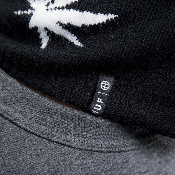 HUF winter cap Plantlife Ski MAsk black