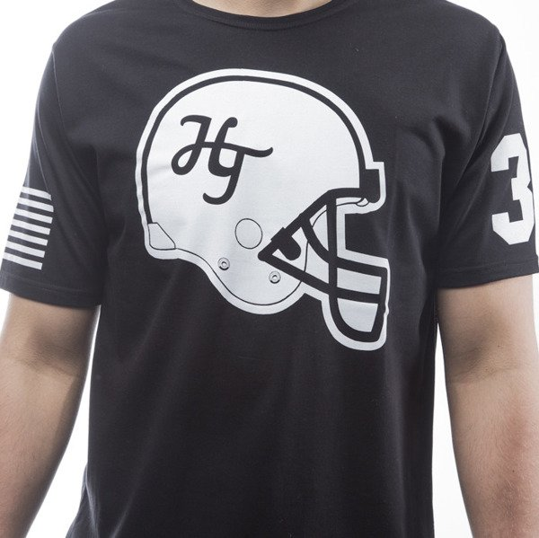Harp Team t-shirt NFLHelmet / Man black