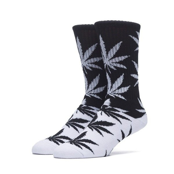 Huf Color Block Plantlife Crew Sock black / white