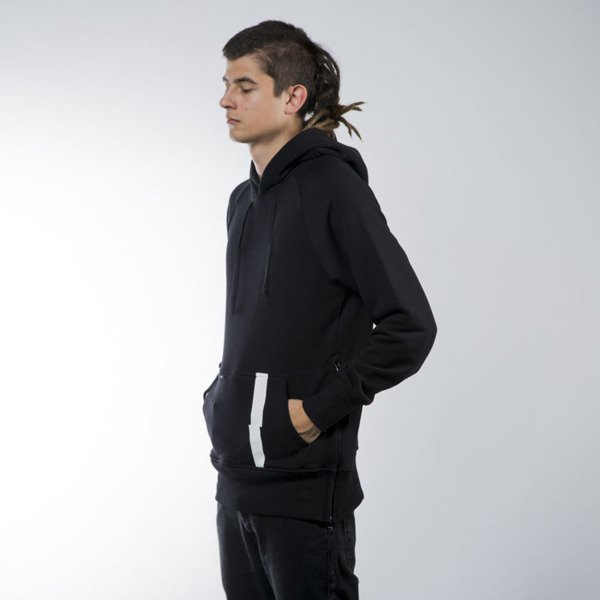 Intruz sweatshirt Arch hoody black