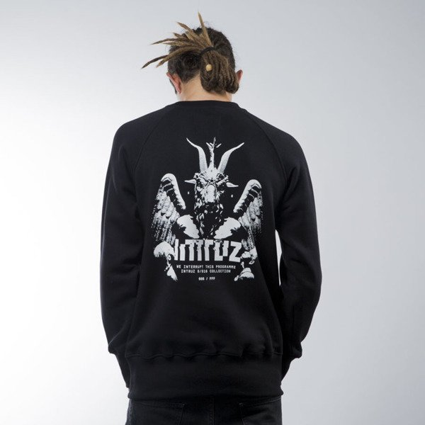 Intruz sweatshirt Praise crewneck black
