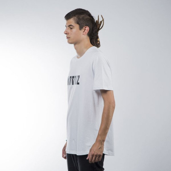 Intruz t-shirt Logo white