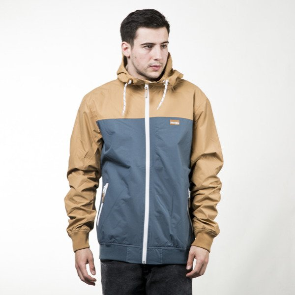 Iriedaily Jacket Auf Deck steel blue