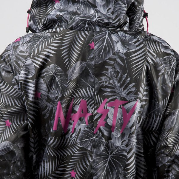 Jungmob Dark Jungle Rain Jacket grey / black