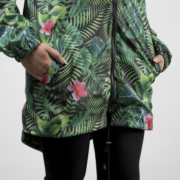 Jungmob Jungle Mess Rain Jacket green / black