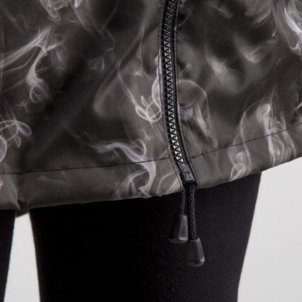 Jungmob Smoke Rain Jacket black / grey