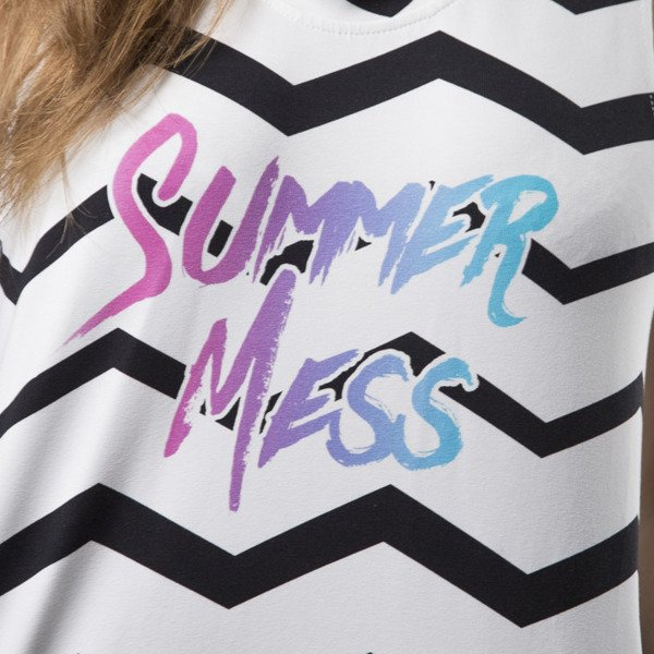 Jungmob Summer Mess Dress white
