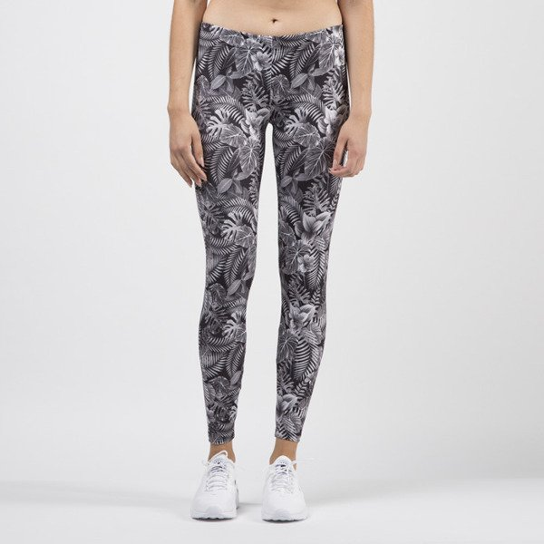 Jungmob legginsy Dark Jungle leggins grey / black