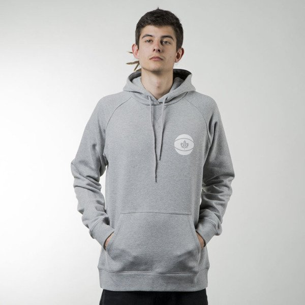 K1X All City Hoody heather grey / white (1161-2102/8110)
