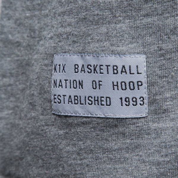 K1X All City Tank Top grey heather / white
