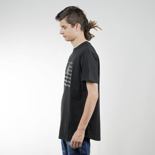 K1X t-shirt Monochrom Flag black