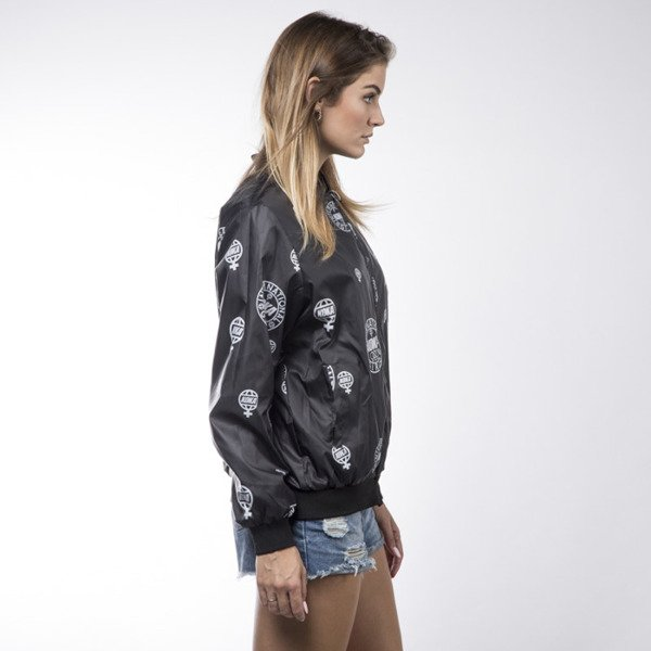 KOKA Bomber Reversible Jacket grey / black WMNS