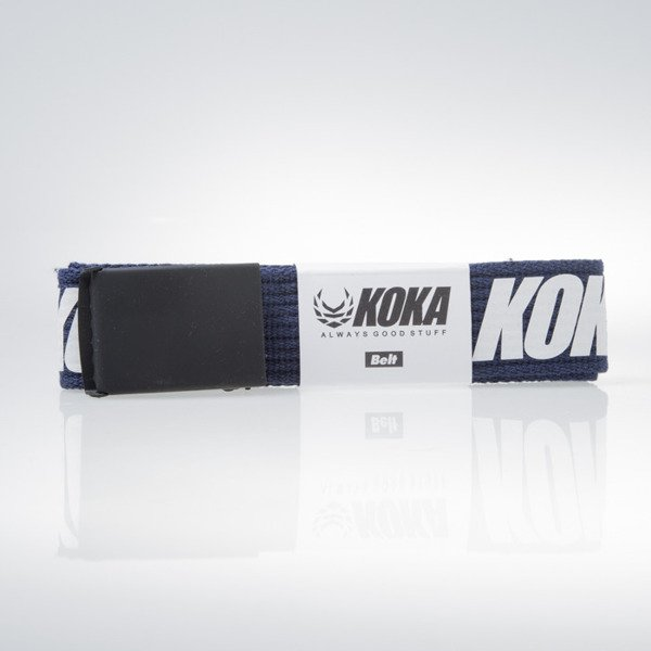 KOKA Logo Belt navy