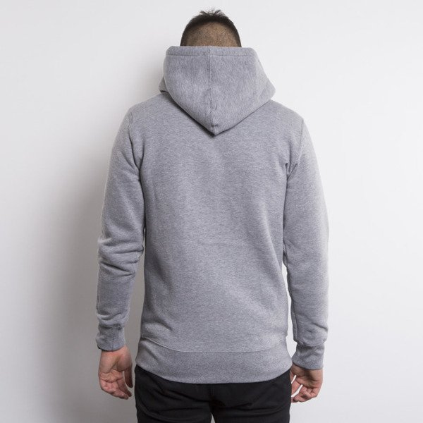 KOKA sweatshirt Classic hoody zip heather grey