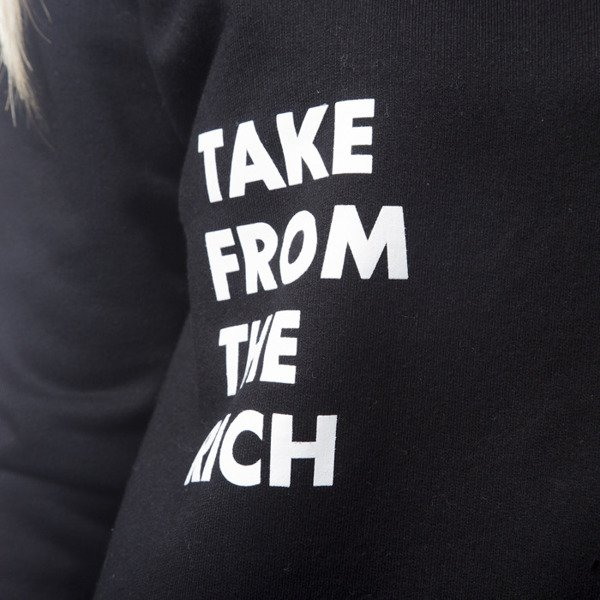 KOKA sweatshirt crewneck Take From The Riche 1998 black WMNS