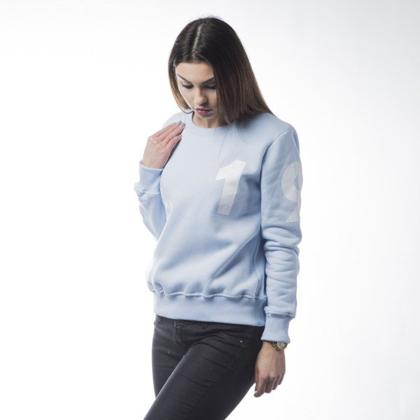 KOKA sweatshirt crewneck Take From The Riche 1998 light blue WMNS