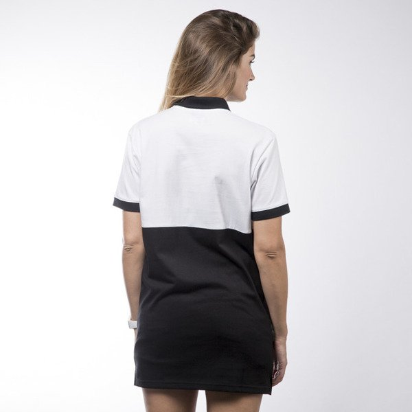 Koka International Polo Dress black / white