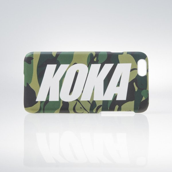 Koka Logo iPhone Case camo naked 6/6S