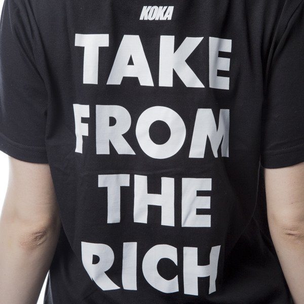 Koka WMNS Take From The Rich Long Ts black