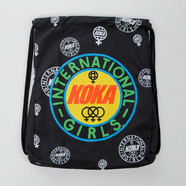 Koka gymbag Gadabout Girls Back Bag black