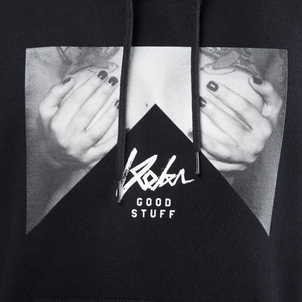 Koka sweatshirt Hoodie Hands Off black