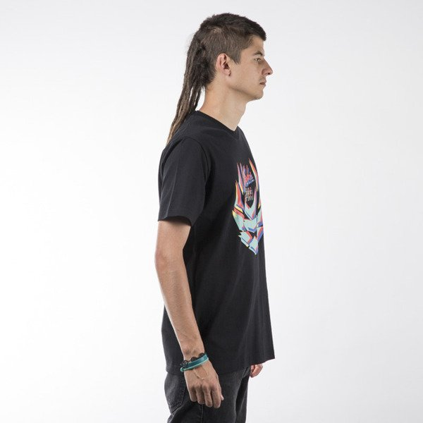 Koka t-shirt Blurry Laurel Tag black