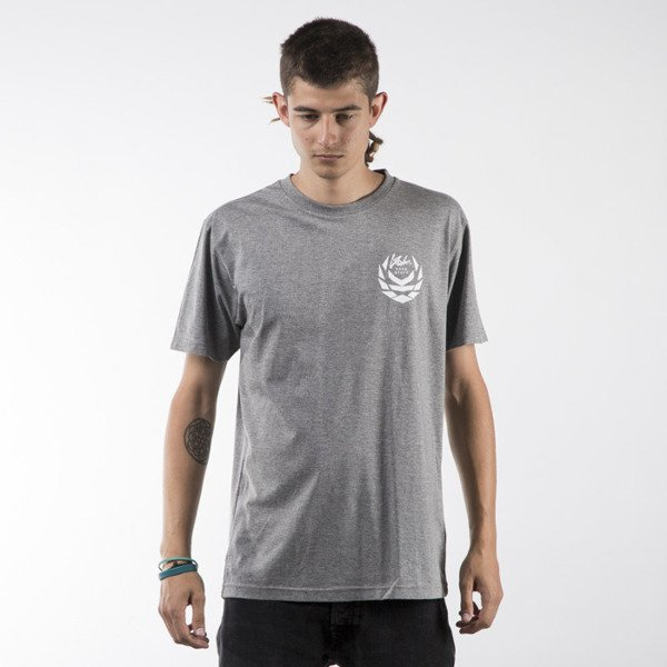 Koka t-shirt Front & Back heather grey