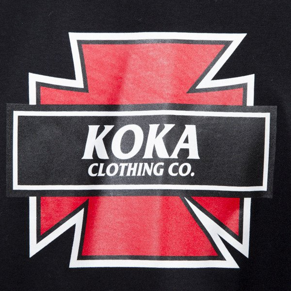 Koka t-shirt Indy black