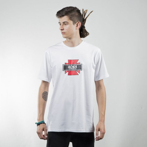 Koka t-shirt Indy white