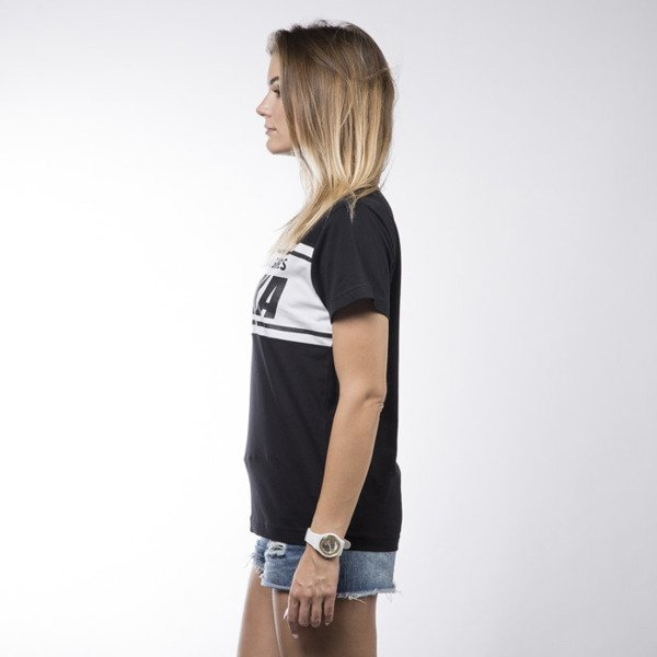 Koka t-shirt International black / white WMNS