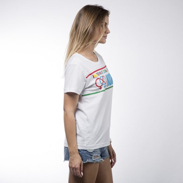 Koka t-shirt International white WMNS