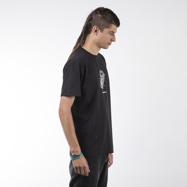 Koka t-shirt Mobile black