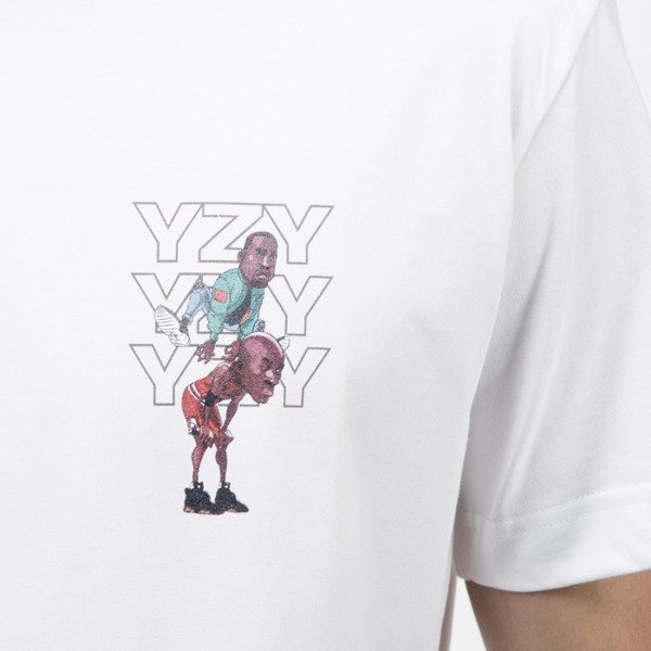 Kreem t-shirt Just Jumped Over white / multicolor 9161-2505/0129