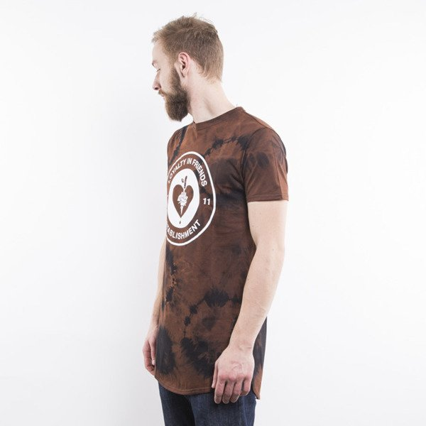 Life/Stab t-shirt Emblem brown