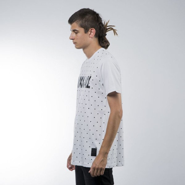 Luxx All t-shirt Basic Dots white