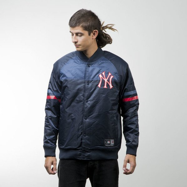Majestic Athletic Clime Satin Jacket New York Yankees navy MNY2357NL