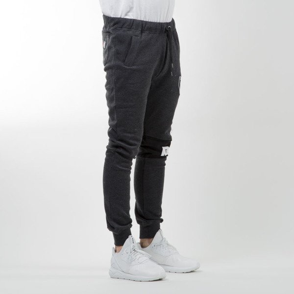 Majestic Athletic Filter Fashion Wrap Font Jogger Oakland Raiders charcoal MOR2372E3