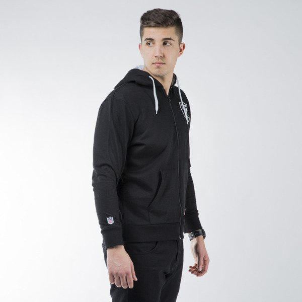 Majestic Athletic Leptic Full Zip Hood Oaklam Raiders black (MOR1434DB)