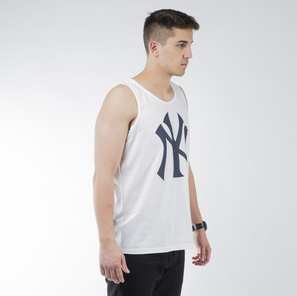 Majestic Athletic Limner Jersey Vest New York Yankees white (MNY1455WB)