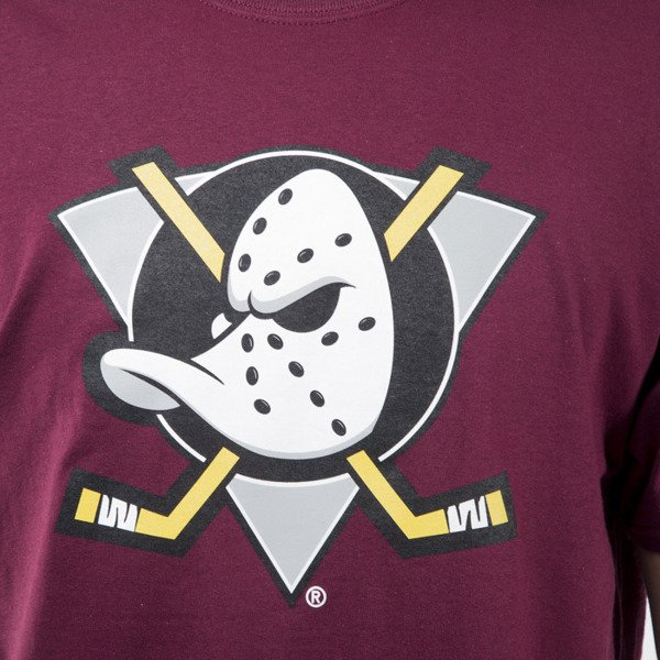 Majestic Athletic Prism Large Logo Tee Anaheim Ducks purple (MAN1450PM)