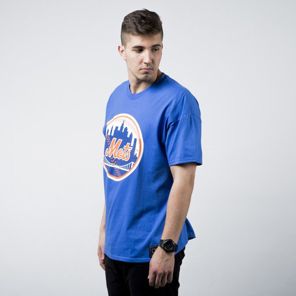 Majestic Athletic Prism Large Logo Tee New York Mets blue (MNM1450ZB)